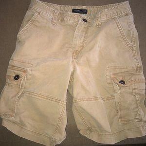 Aeropostale Cargo Khaki Shorts (Waist 30)